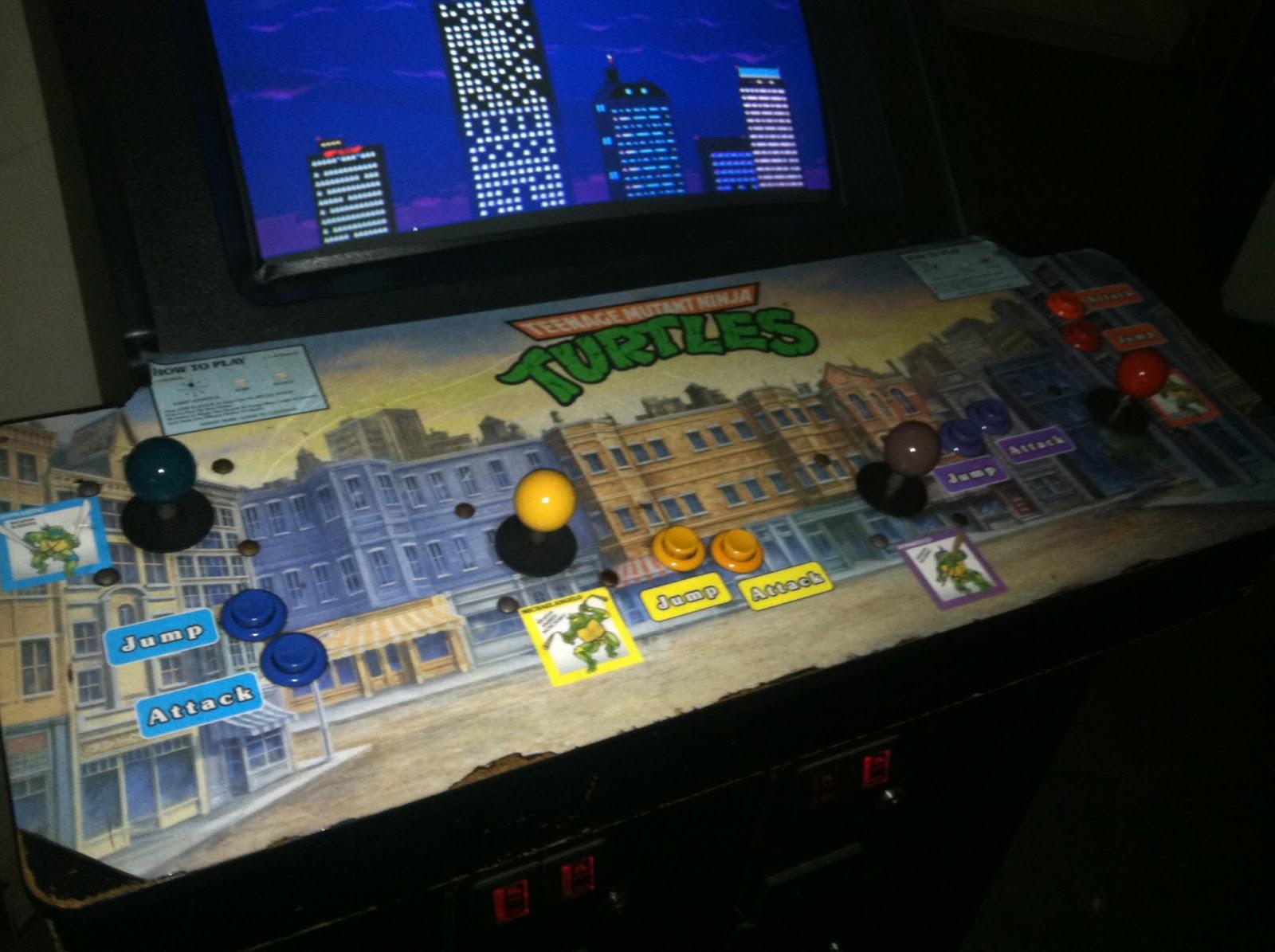 Ninja Turtles Arcade Cabinet The Holidaze Barcade