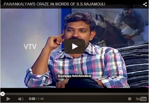 Pawan Kalyan's Craze In Words Of SS Rajamouli | Every PawanKalyan Fan Must Watch And Share