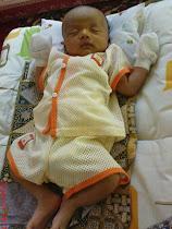 =Aqil Hakim 1 month old=