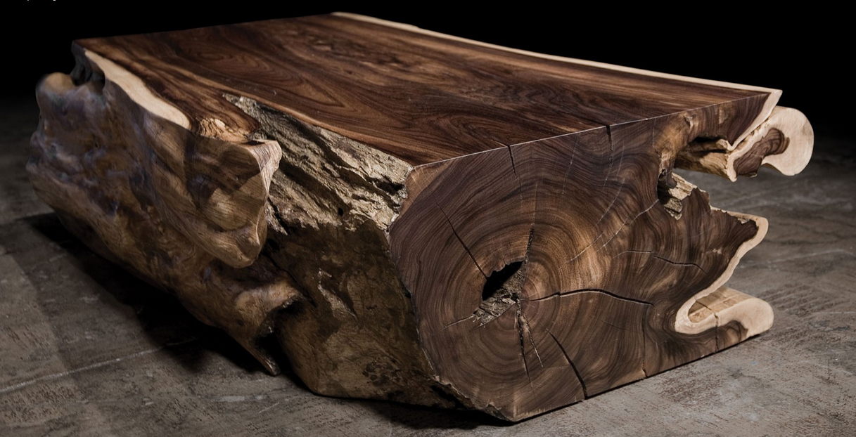 Petrified wood, having the visual characteristics of wood but the feel of  stone, represents a contemporary fusion of the two original materials into  a new ...