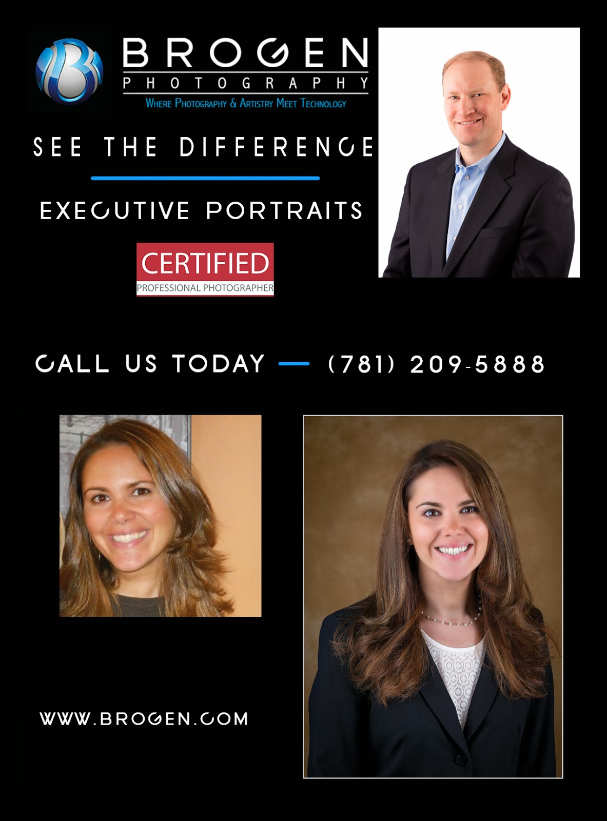 Executive Portraits, Business Portraits, Corporate Headshots, Senior Portraits, Senior Pictures, First Communion Portraits, Family Portraits