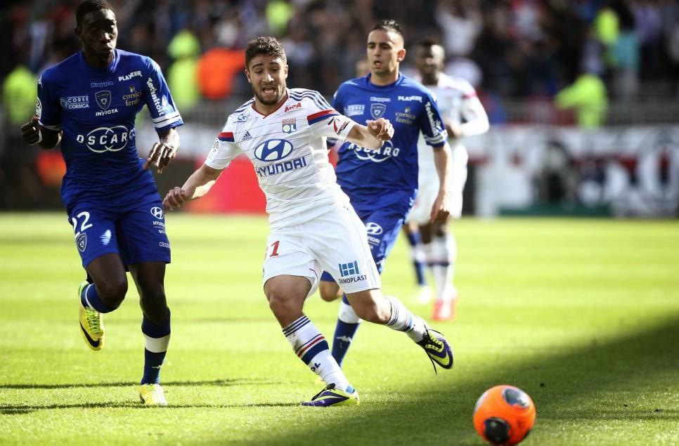 Kèo thơm miễn phí Lyon vs Bastia