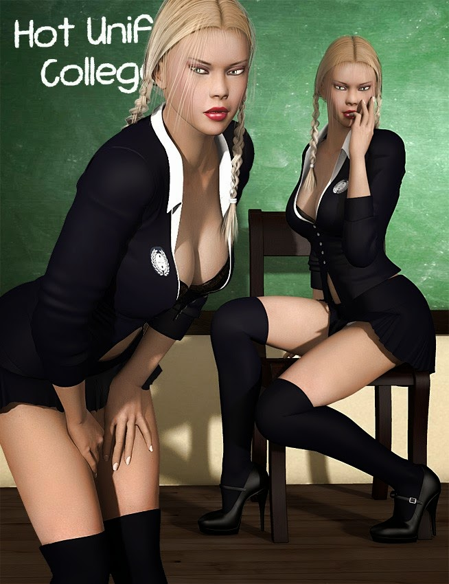 Uniformes Hot - College Girl