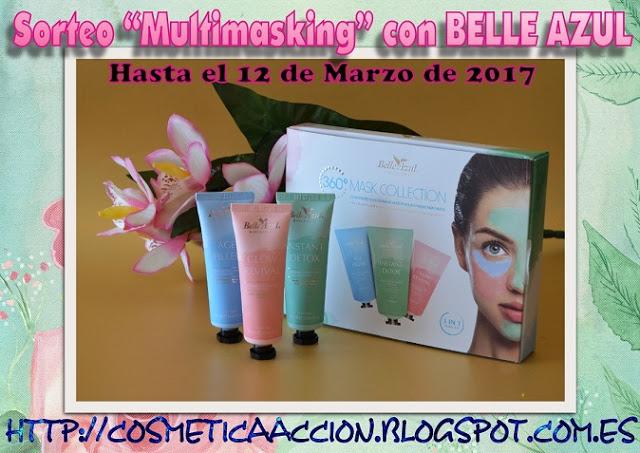 """sorteo""""multimasking"""" con Belle Azul"""