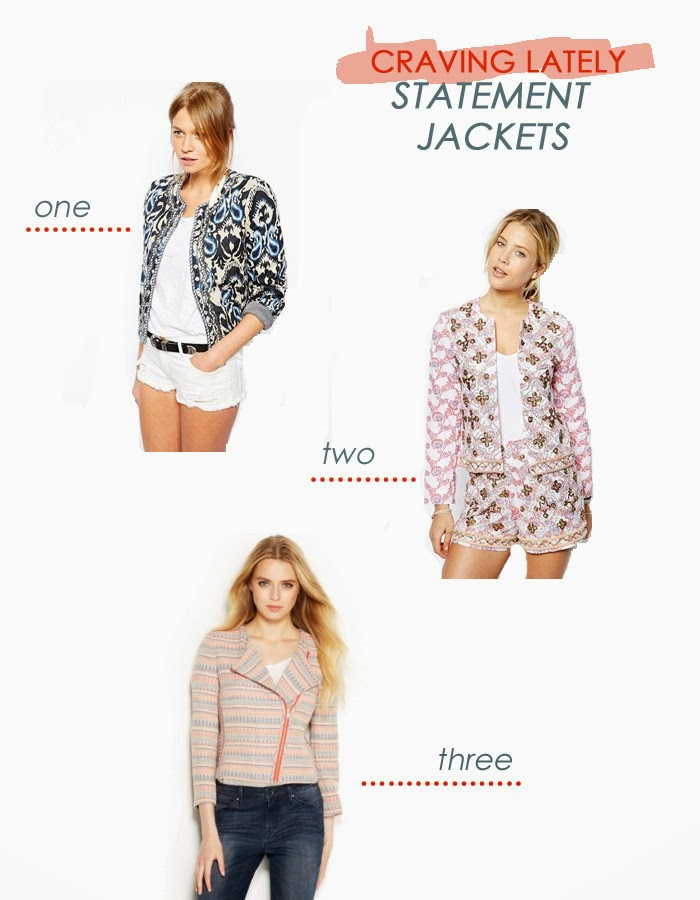 embellished statement jackets