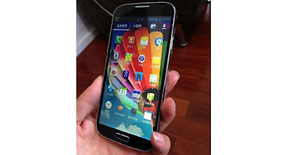 s6  with a 5-inch display, quad-core MT6589 CPU,1Ghz, along with 1GB RAM and 4GB ROM