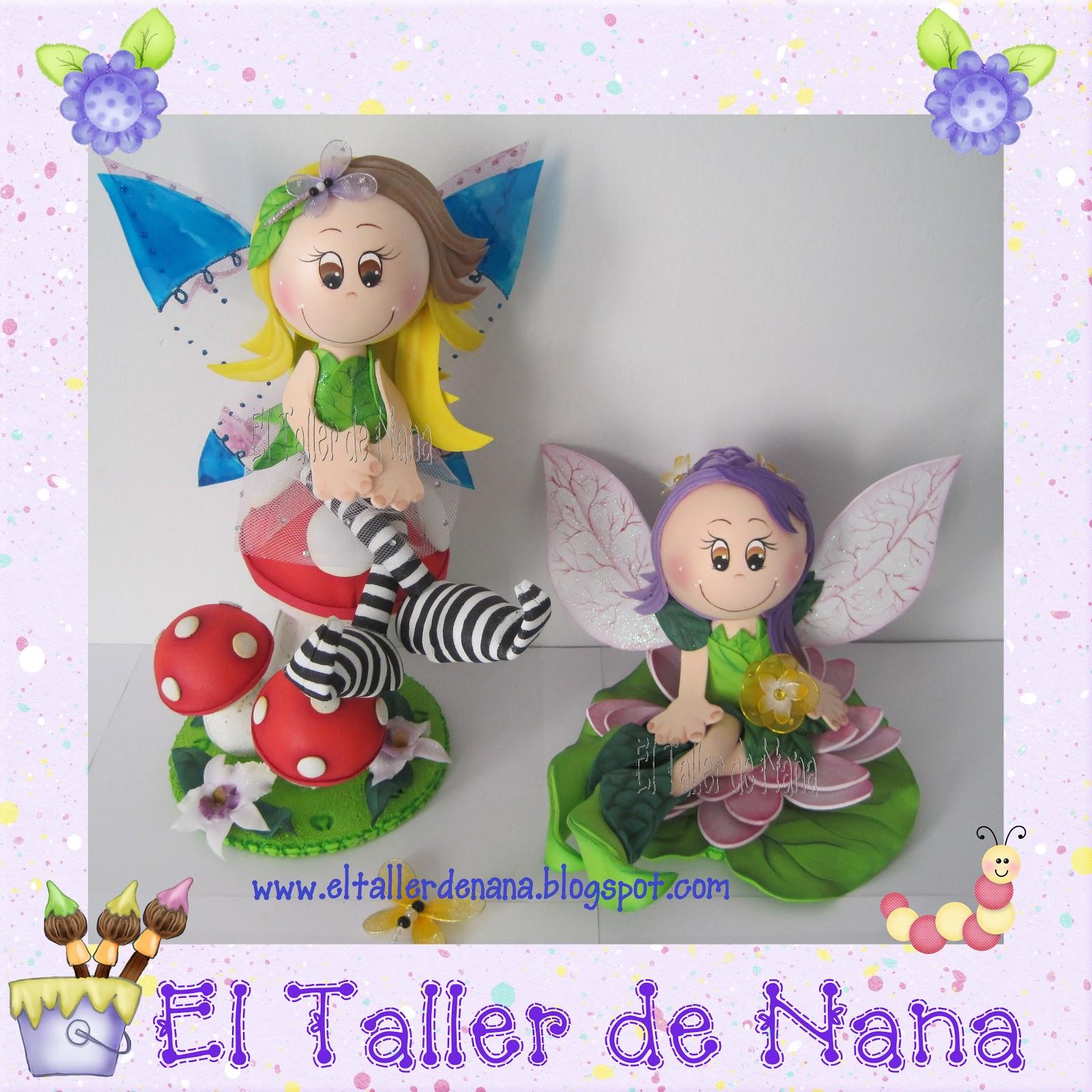 El Taller de Nana: Hadas en Foami