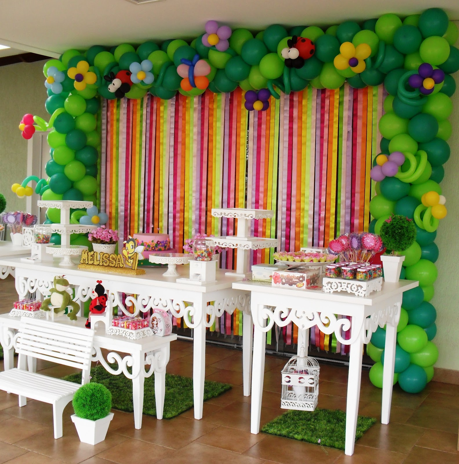 decoracao de balões jardim encantado:ART BALLOONS & EVENTOS: DECORAÇÃO JARDIM ENCANTADO