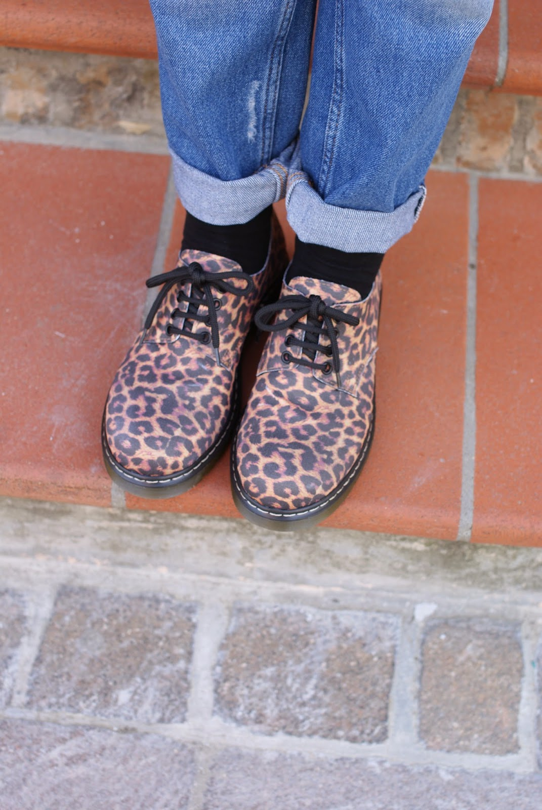 leopard print shoes, leopard doc martens, Fashion and Cookies, fashion blogger