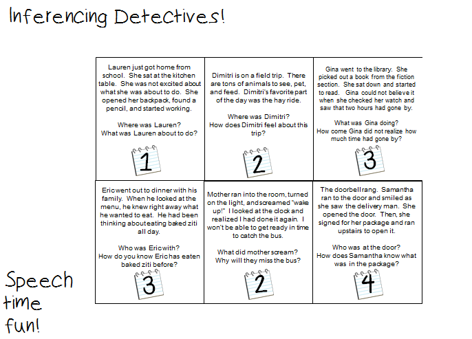 Inferencing Detectives Fun – Inference Worksheets 3rd Grade