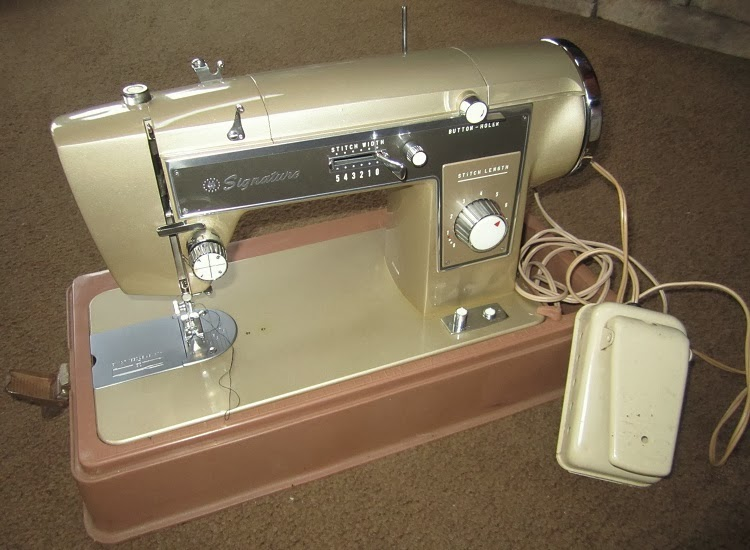 Hills Creek Quilter Bargain Find Custom Goodwill Sewing Machine