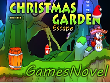 GamesNovel Christmas Garden Escape