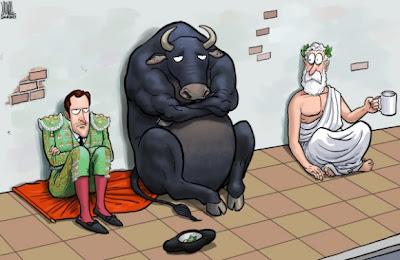 """""""Déjà vu"""" grego: Crise espanhola poderá derrubar economia mundial em uma DEPRESSÃO sem fim!"""
