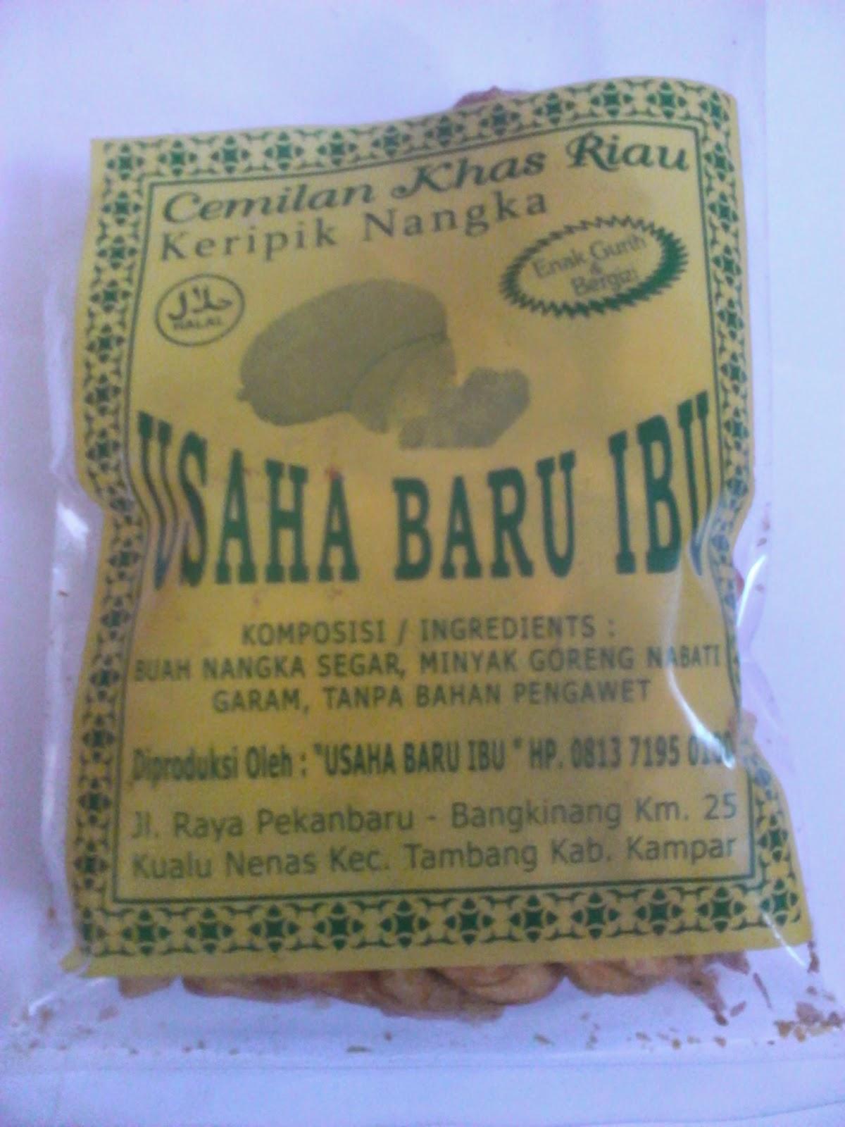 Jual Keripik Nangka Khas Riau