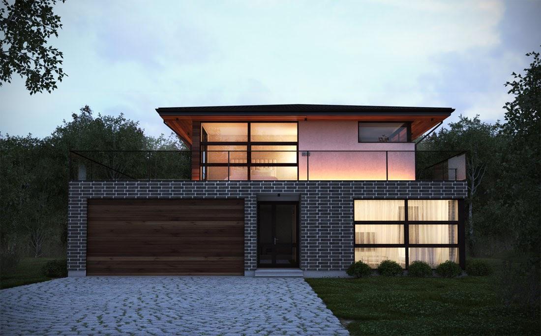 Australian house plans australian house plan ch238 for Modern australian house plans