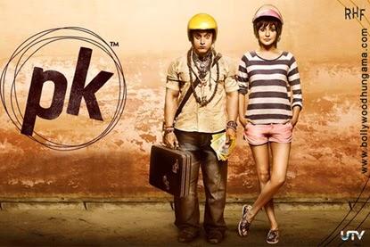 5th Poster Of Aamir Khan Movie PK