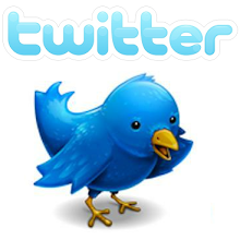 Følg oss på twitter