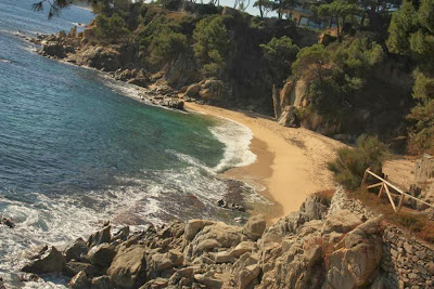 Cala Pi beach in Platja d'Aro