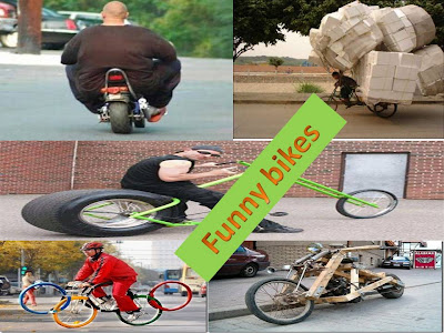 Funny bikes wallpapers