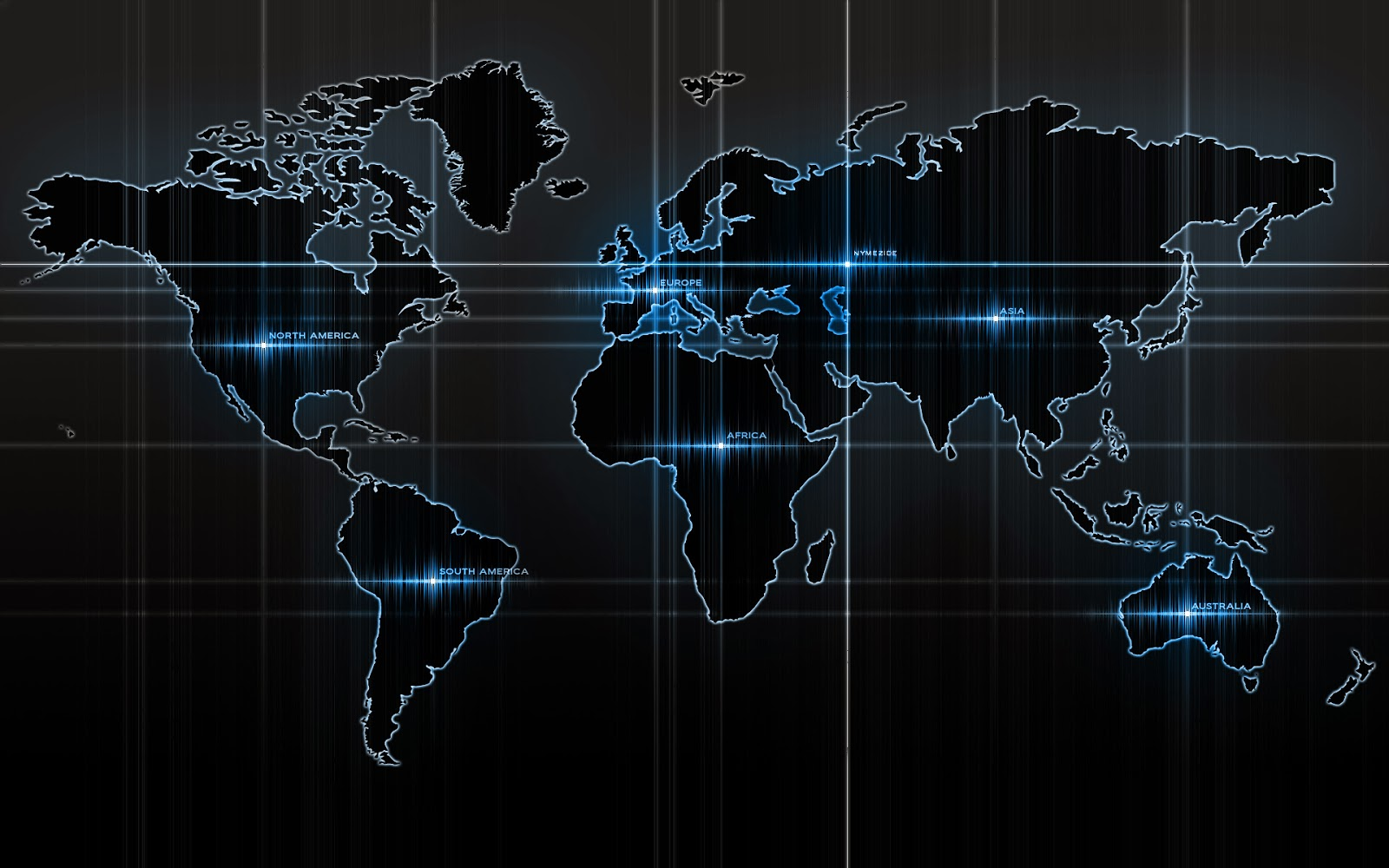 Dark Earth Map HD Wallpaper