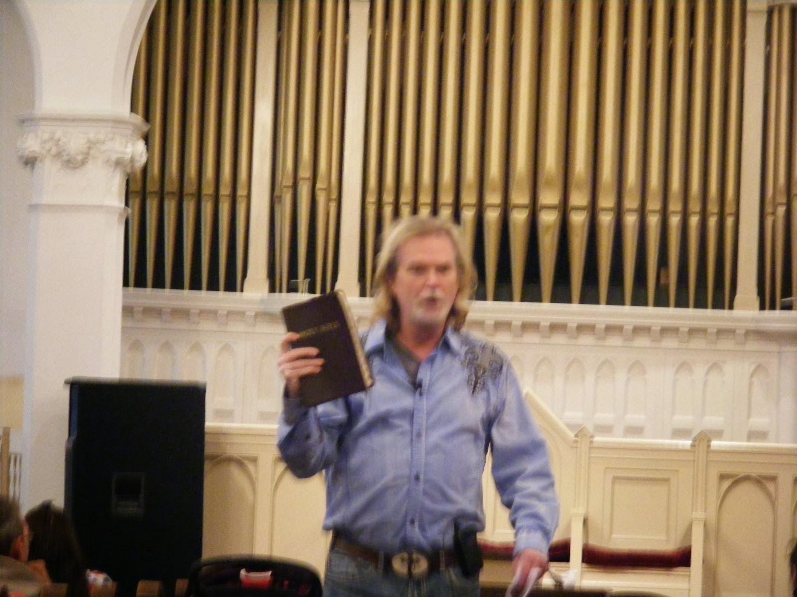 Pastor John Collins