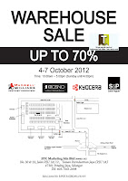 ETC Warehouse Sale 2012