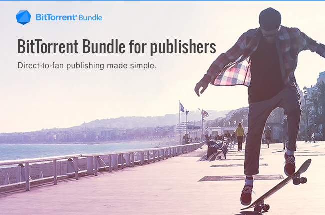 Direct-to-fan publishing is possible by BitTorrent bundles.