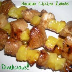 By NickiG: Hawaiian Chicken Kabobs