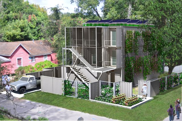 Shipping Container Home Florida