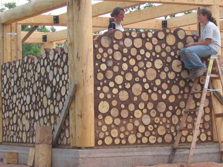 Masonry design masonry and wood for Cordwood house cost