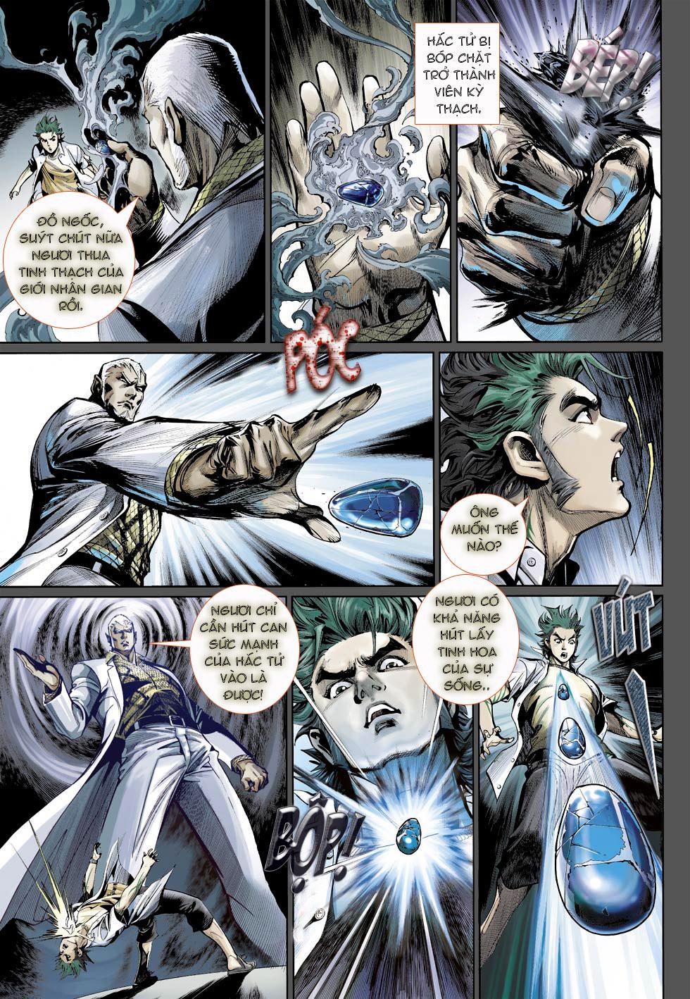 Thần Binh 4 chap 23 - Trang 13