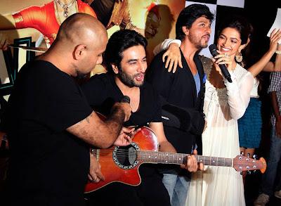Shahrukh, Rohit & Deepika Padukone @ Chennai Express Trailer Launch-9