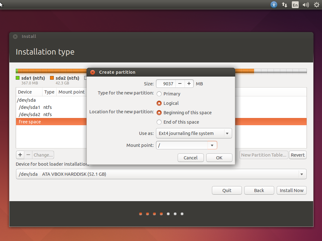 Install Ubuntu 14.04 LTS dan Windows 8.1 (Rival Duo Boot)