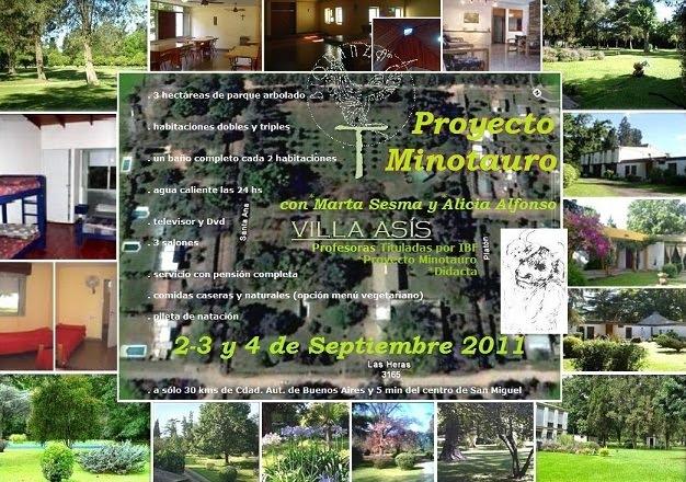 PROYECTO MINOTAURO en Villa Asis