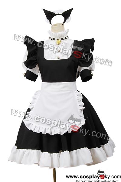 Neko Maid Costume Neko Maid Cosplay