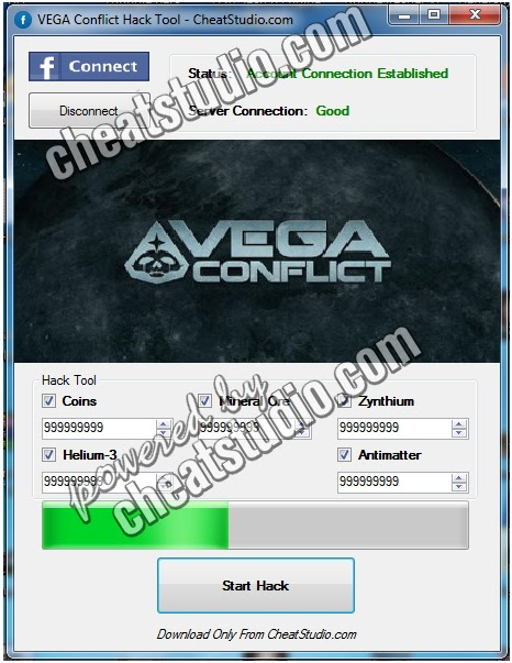 Hacks for Android: VEGA Conflict Hack Tool 2013