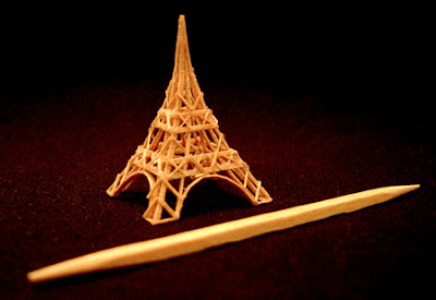 Amazing Toothpick Sculptures Art Seen On www.coolpicturegallery.us