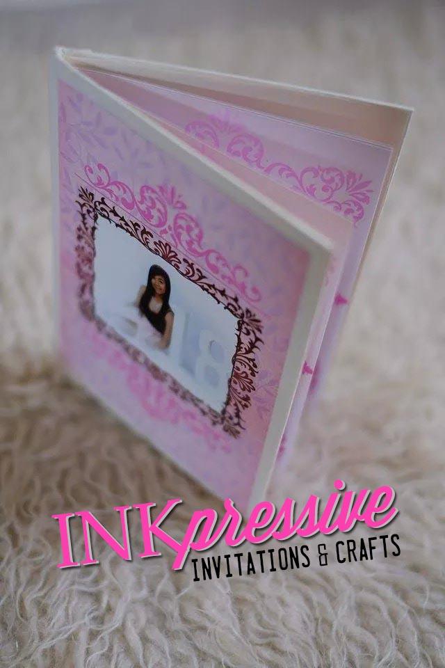 hardbound fairytale book invitation debut invitations