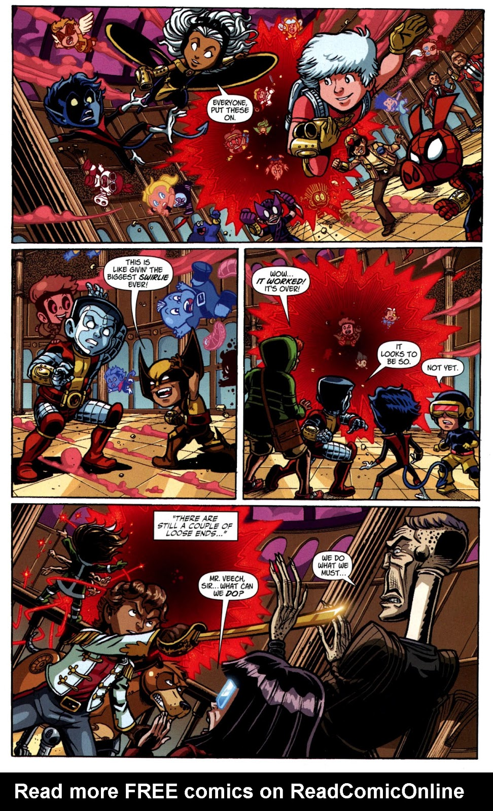 Read online X-Babies comic -  Issue #4 - 14