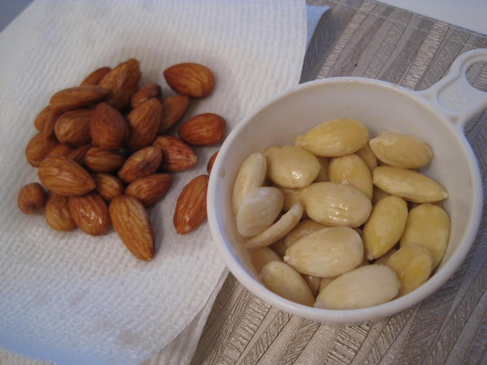 Skinning Almonds Veega Blog