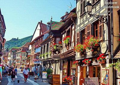 Tempat wisata terkenal di Perancis Ribauville Desa indah di perancis