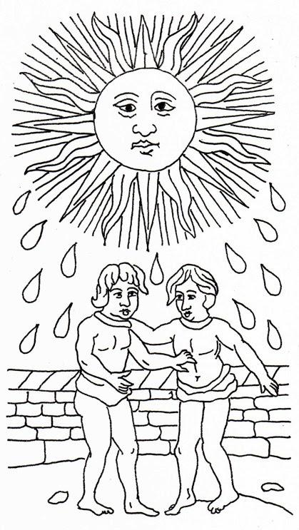 mandalas y tarot, conjunciones simbólicas
