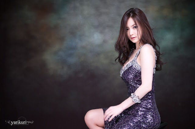 1 Im Ji Hye - Gorgeous Purple-very cute asian girl-girlcute4u.blogspot.com