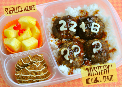 Sherlock Holmes Mystery Bento Lunch