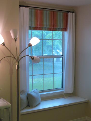 Curtains Ideas curtain rod roman shades : Roman Shades On Curtain Rod - Curtains Design Gallery