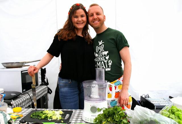 Oslo Vegetarfestival 2015 Veganmisjonen Veganmannen Kokkekurs Proteinrik Veganman Veganplan