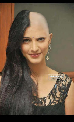 Cute Womens After The Headshave Head Shaved Indians