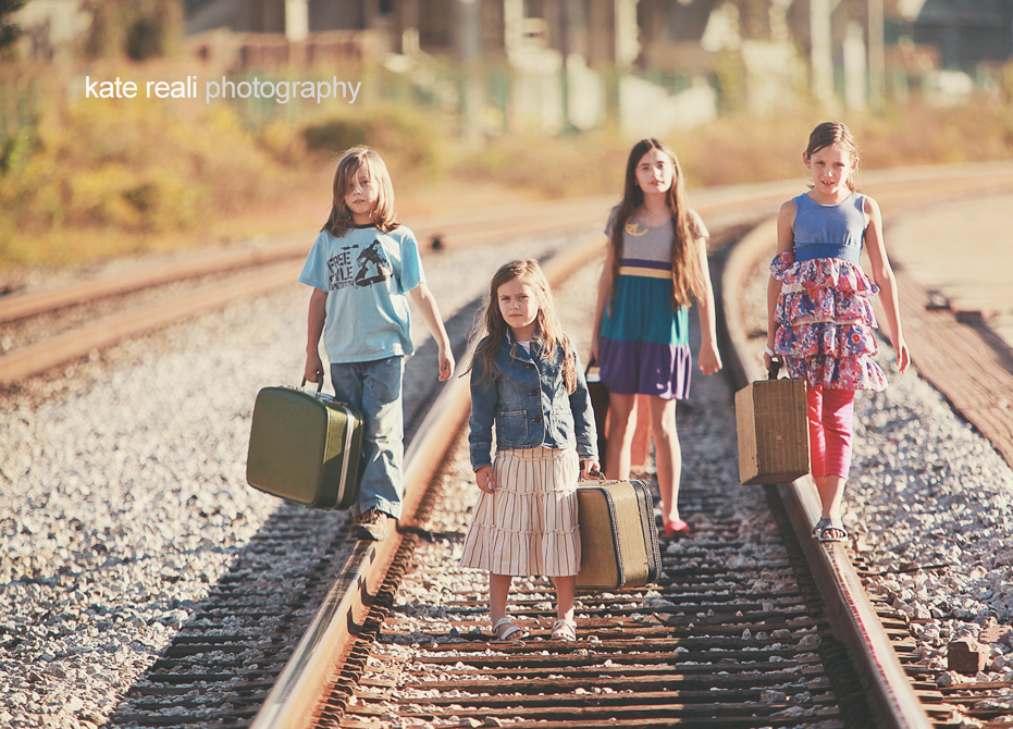 Family Photo Ideas Railroad Tracks Family Photo Ideas on Railroad
