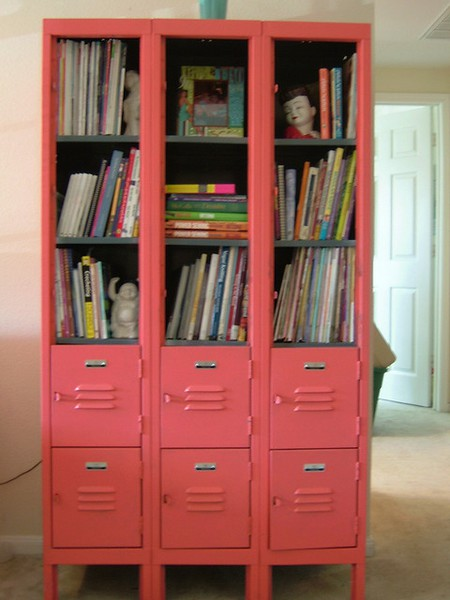 Bee mason kids rooms for Lockers for kids room
