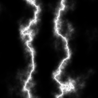 Lightning Bolts Created with Bilinear Gradient